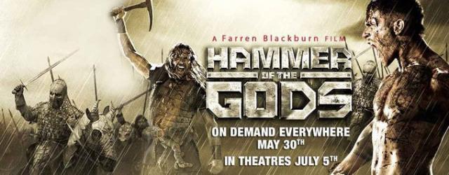 """Krwawa jatka w klipie z """"Hammer of the Gods"""""""