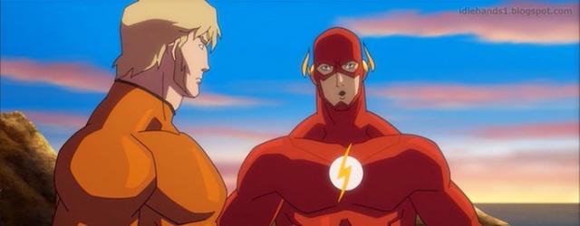 "Zobacz fragment filmu ""Justice League: Throne of Atlantis"""