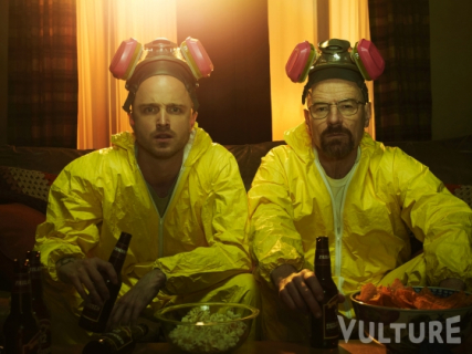 Breaking Bad - kolejne podejrzane zdjęcia od Cranstona i Paula