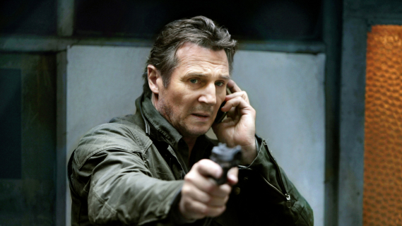 Cichy twardziel Liam Neeson