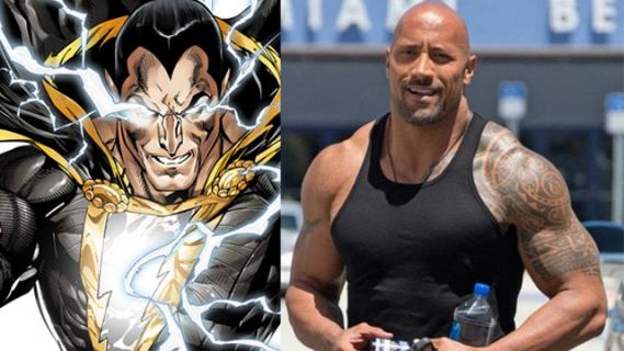 Plotka: Dwayne Johnson nie pojawi się jako Black Adam w filmie Shazam!