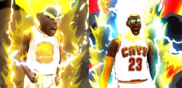 Gwiazdy NBA w stylu Dragon Ball Z