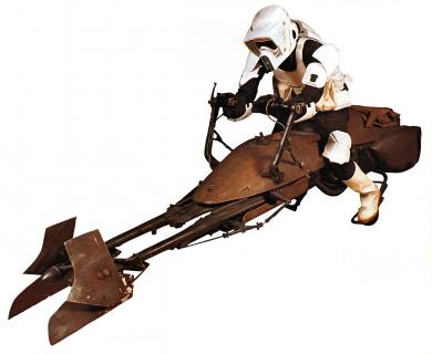 """Latający motor – Armia USA inspiruje się """"Gwiezdnymi Wojnami"""""""