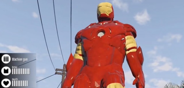 """Stań się Iron Manem w grze """"Grand Theft Auto V"""""""