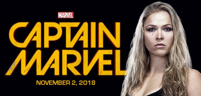 Ronda Rousey jako Captain Marvel – fanarty