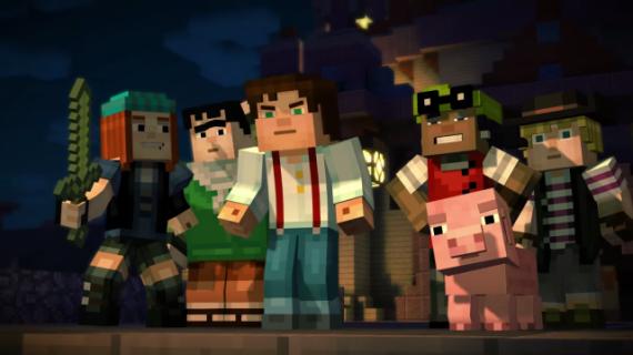 Minecraft: Story Mode już do ogrania na platformie Netflix