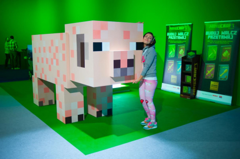 Minecraftowa Świnka na aukcji charytatywnej WOŚP i Microsoftu