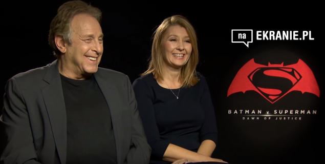 Deborah Snyder i Charles Roven dla naEKRANIE.pl – obejrzyj wywiad z producentami Batman v Superman