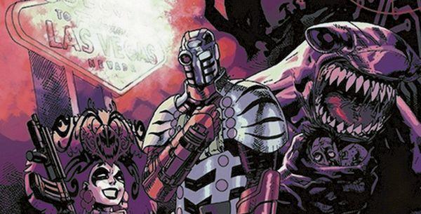 Obejrzyj plansze z komiksu Suicide Squad: Nadzorować i karać