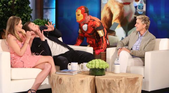 Jakóbiak, Ellen i sztuka kontrolowanego talk show