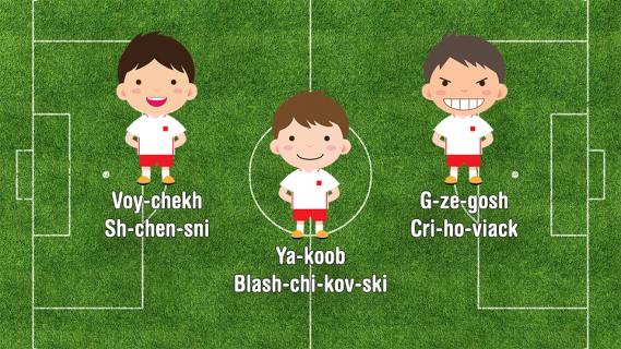 Euro 2016: UEFA uczy wymawiać nazwiska piłkarzy