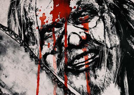 Plakaty bohaterów z horroru Roba Zombie