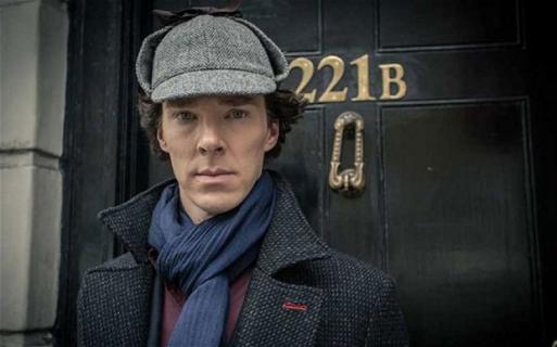 Benedict Cumberbatch jako Thomas Edison. Zdjęcie z The Current War