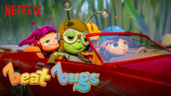 Zwiastun animowanej muzycznej serii dla dzieci od Netflixa