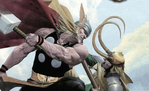 Zobacz plansze z marvelowskiego komiksu Loki