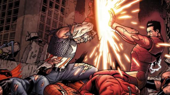 Wojna domowa – recenzja komiksu