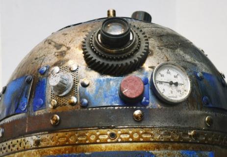 Metalowy R2-D2 i Sokół Millenium – zobacz świetne prace tureckiego artysty