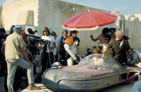 40 lat temu do kin trafiły Gwiezdne wojny: Nowa nadzieja. Zobacz zdjęcia z planu