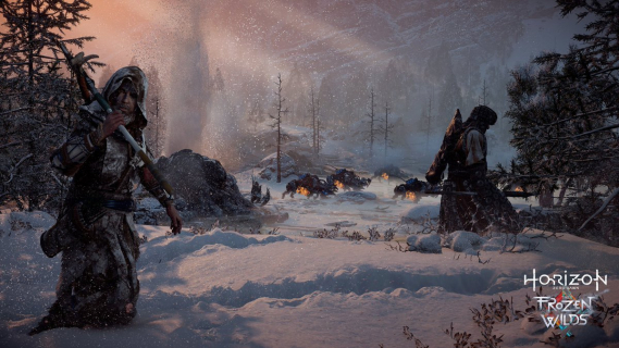 Sony ma problem z Horizon Zero Dawn: The Frozen Wilds