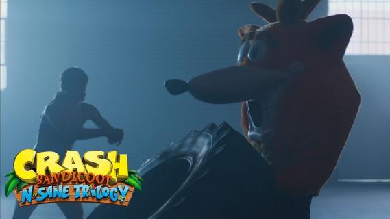 Powrót do przeszłości. Reklamy Crash Bandicoot N.Sane Trilogy w stylu retro