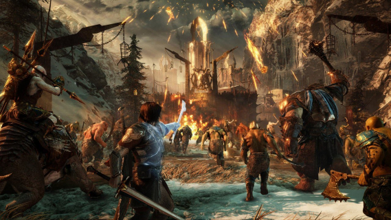 Fabularny zwiastun gry Śródziemie: Cień Wojny. Talion i Celebrimbor w akcji