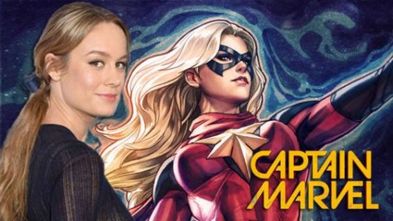 Brie Larson w stylu lat 90. – jeszcze więcej zdjęć z planu Captain Marvel