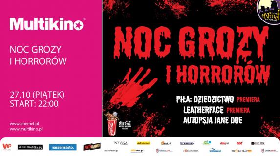 ENEMEF: Noc Grozy i Horrorów już 27 października