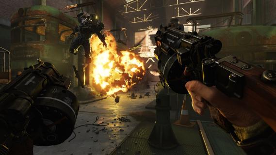 Strzelanka Wolfenstein II otrzymała wersję trial