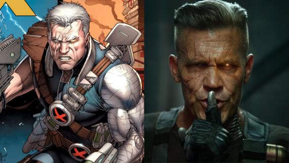 Deadpool 2 - mechaniczne ramię Cable'a mogło wyglądać inaczej. Oto grafika