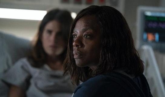 Olivia i Annalize na pierwszym zdjęciu z crossovera Skandalu i Sposobu na morderstwo