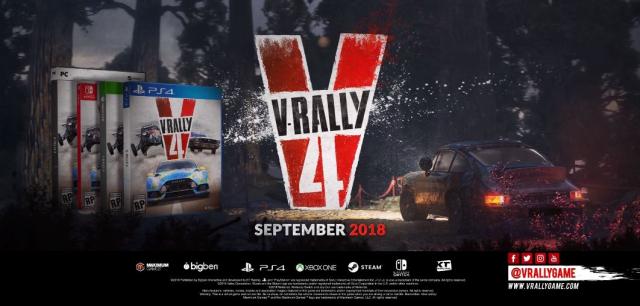 Nadciąga V-Rally 4. Zobacz zwiastun zapowiadający grę