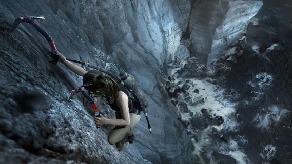 Lara w tarapatach. Zobacz pierwszy kwadrans z gry Shadow of the Tomb Raider