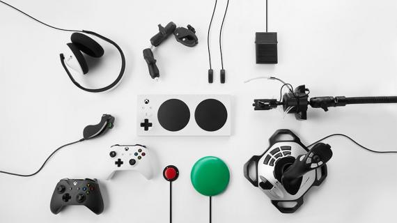 Microsoft stworzył kontroler dla graczy niepełnosprawnych ruchowo
