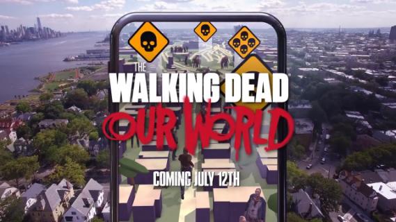 """The Walking Dead: Our World, czyli """"Pokemon GO z zombie"""" z premierą w lipcu"""