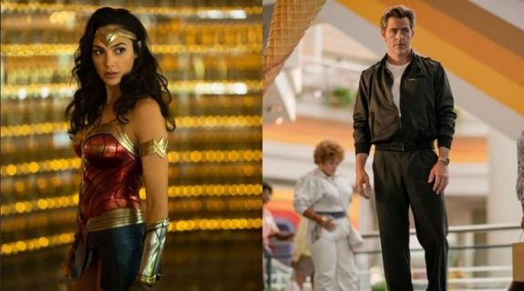 Diana w kostiumie, Steve ją drażni. Wonder Woman 1984 – oto nowe zdjęcia z planu