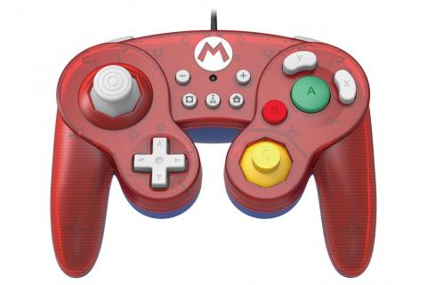 Trzy kontrolery do Switcha w stylu GameCube'a