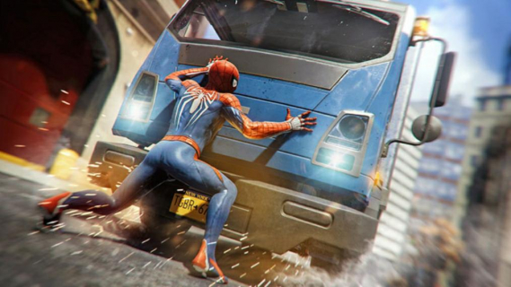 Marvel's Spider-Man z odniesieniami do MCU