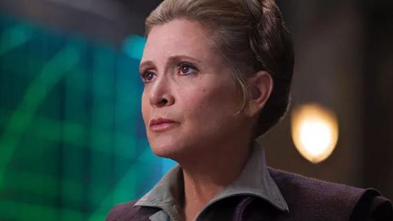 Gwiezdne Wojny: Skywalker. Odrodzenie - reżyser o roli Carrie Fisher