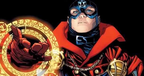 Kapitan Ameryka i Doktor Strange w jednym. Heros ma nową tarczę