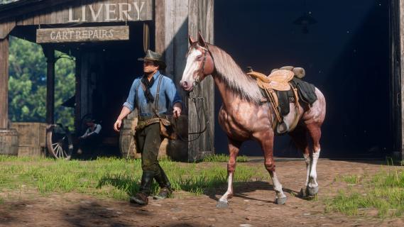 Red Dead Redemption 2 w natywnym 4K na konsoli Xbox One X