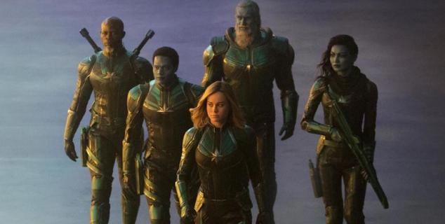 Captain Marvel – Talos, Phil Coulson i inni bohaterowie na grafikach informacyjnych