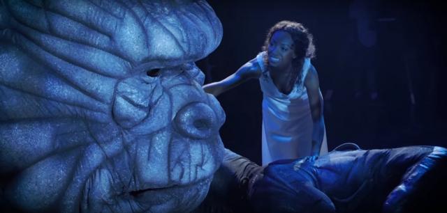 King Kong na Broadwayu. Jest wideo zza kulis