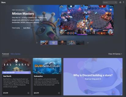 Wojna na procenty trwa. Discord chce przyciągnąć twórców gier niską prowizją