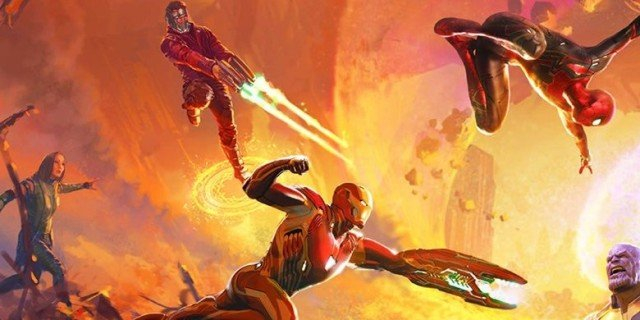 Avengers vs. Thanos. Zobacz kapitalną grafikę z Wojny bez granic