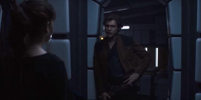Harrison Ford w filmie Han Solo. Fan podmienił twarz aktora