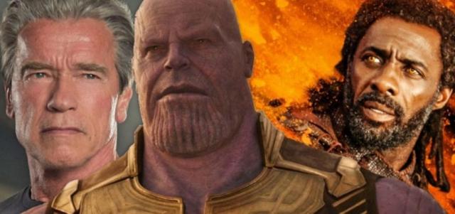 Schwarzenegger lub Elba jako Thanos w MCU? Tak sądził twórca postaci