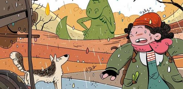 Bajka na końcu świata #03: Ożywczy deszcz – recenzja komiksu