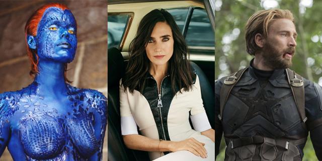 Aktorzy, którzy grali w kilku filmach o herosach. Niektóre nazwiska zaskakują