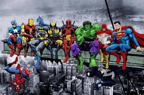Marvel vs. DC: Wieczna wojna czy ostatni kryzys?