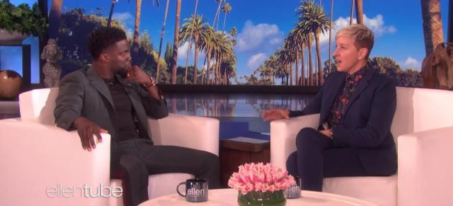 Ellen DeGeneres pod ostrzałem krytyki. Wszystko przez wspieranie Kevina Harta